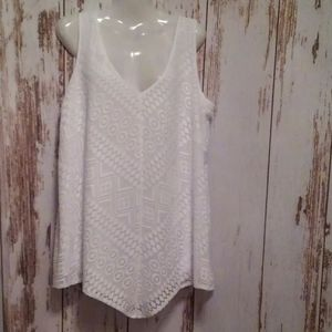 Worthington sleeveless tunic